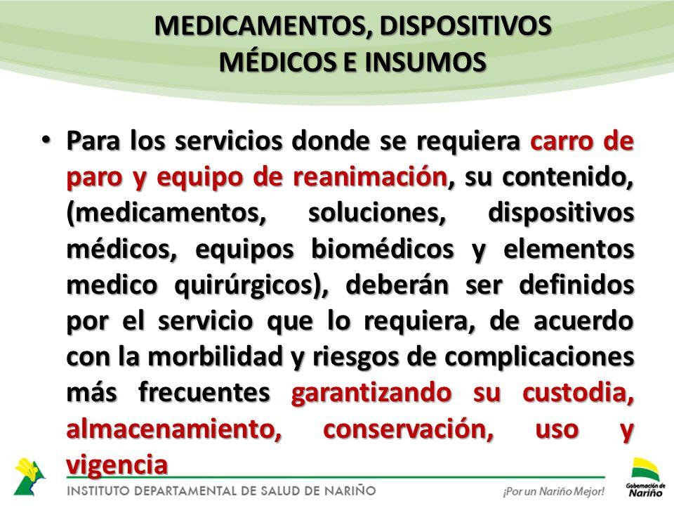 Proveedores De Insumos Equipos Dispositivos Y Servicios Resoluci 211 N 1441 De 2013 Servicio