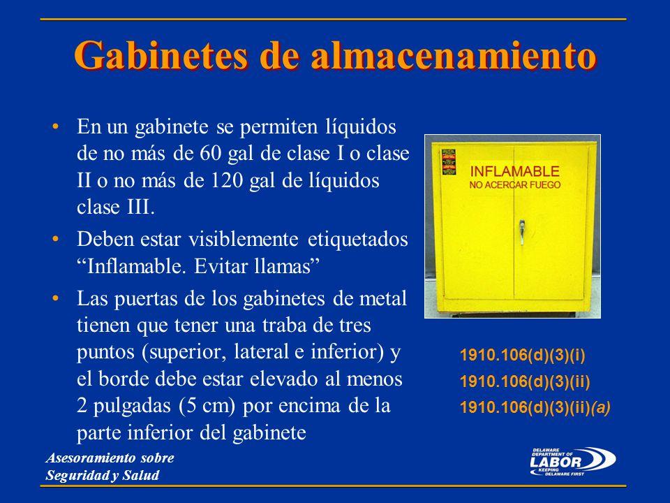 Materiales peligrosos cfr ppt descargar for Gabinete de almacenamiento para el dormitorio