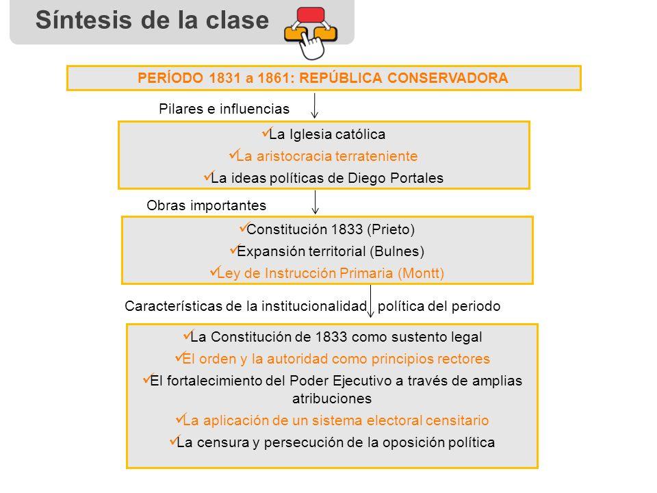 Historia de chile la rep blica conservadora - Republica de las ideas ...