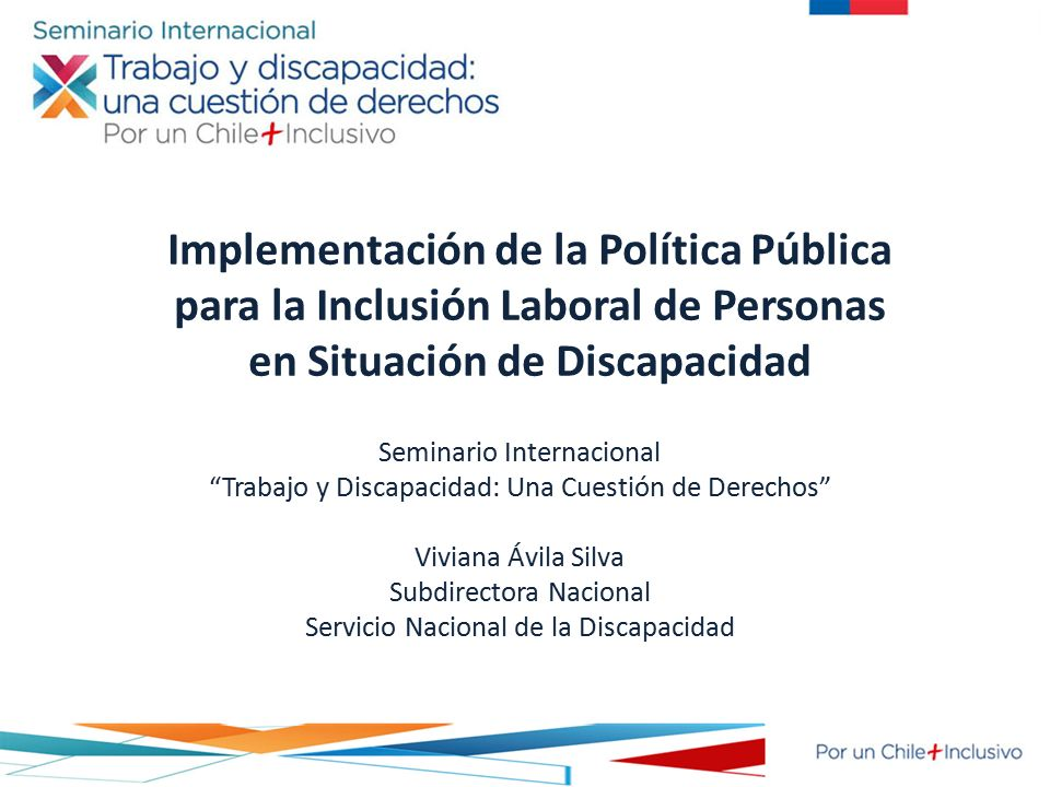 Implementaci n de la pol tica p blica para la inclusi n for La politica internacional