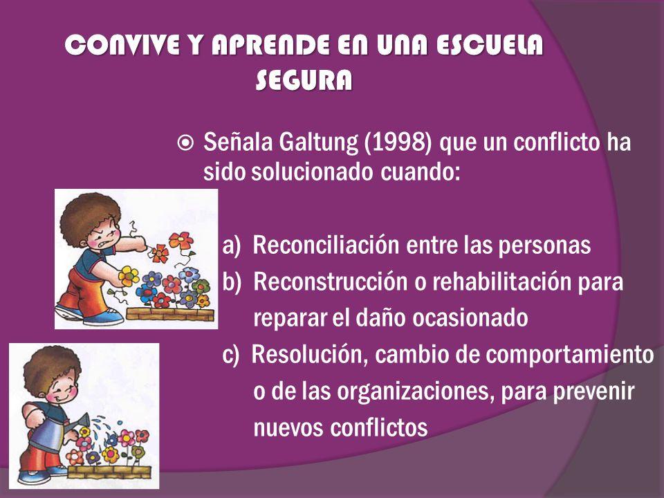 CONVIVE Y APRENDE EN UNA ESCUELA SEGURA  ppt video online descargar