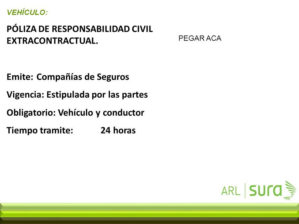 Conciencia con inteligencia vial ppt descargar for Seguro responsabilidad civil autonomos obligatorio