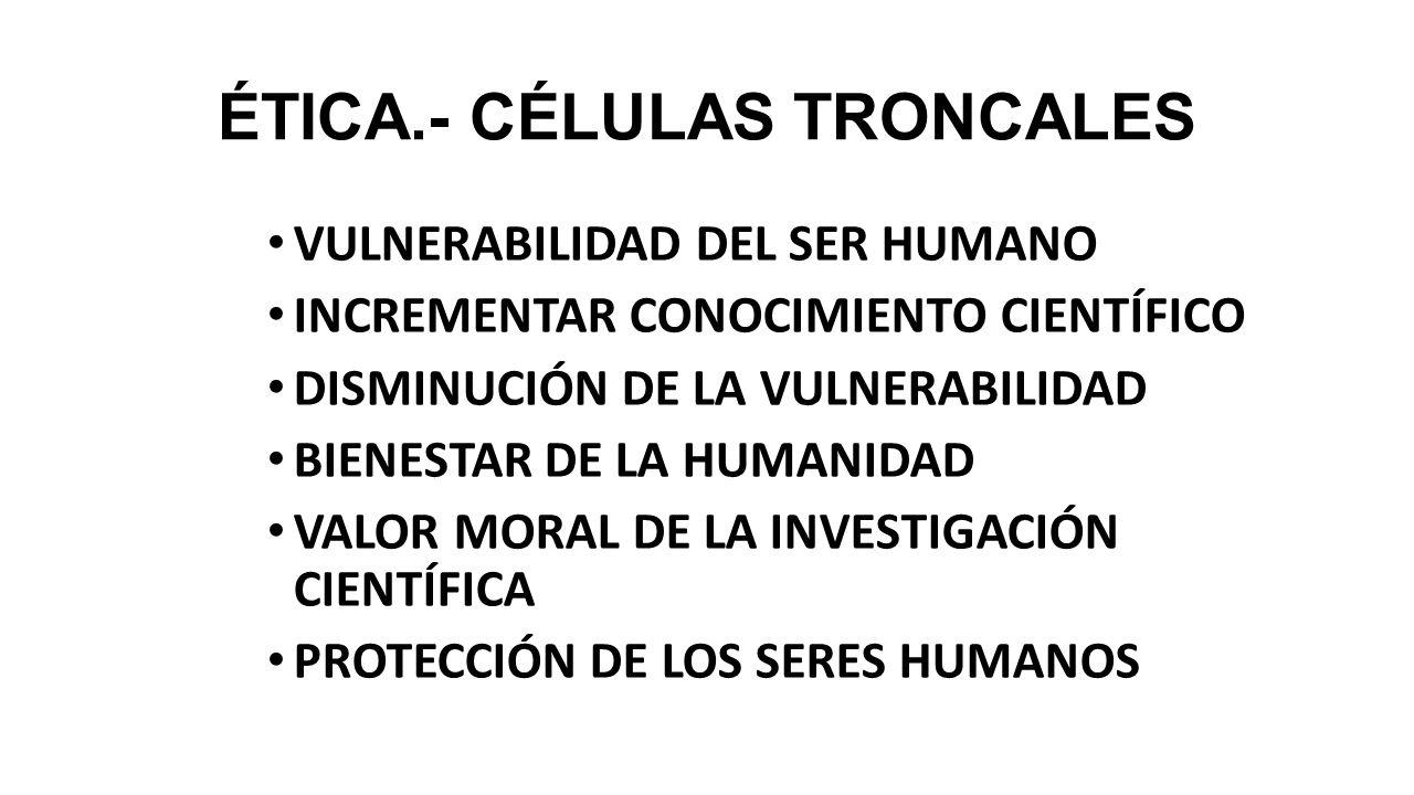 CÉLULAS TRONCALES OBTENCIÓN Y APLICACIONES - ppt descargar