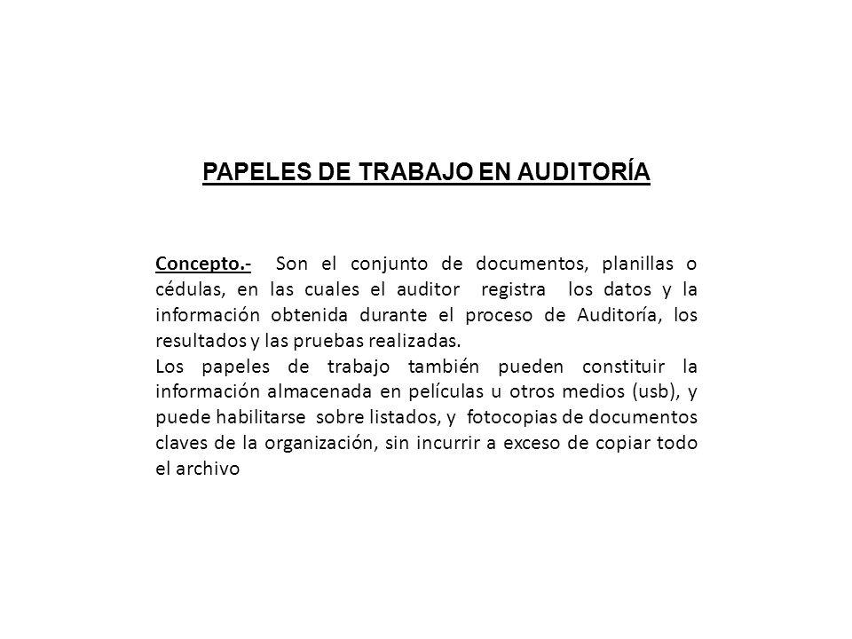 Metodologia de la auditoria administrativa ppt descargar for Trabajos en barcelona sin papeles