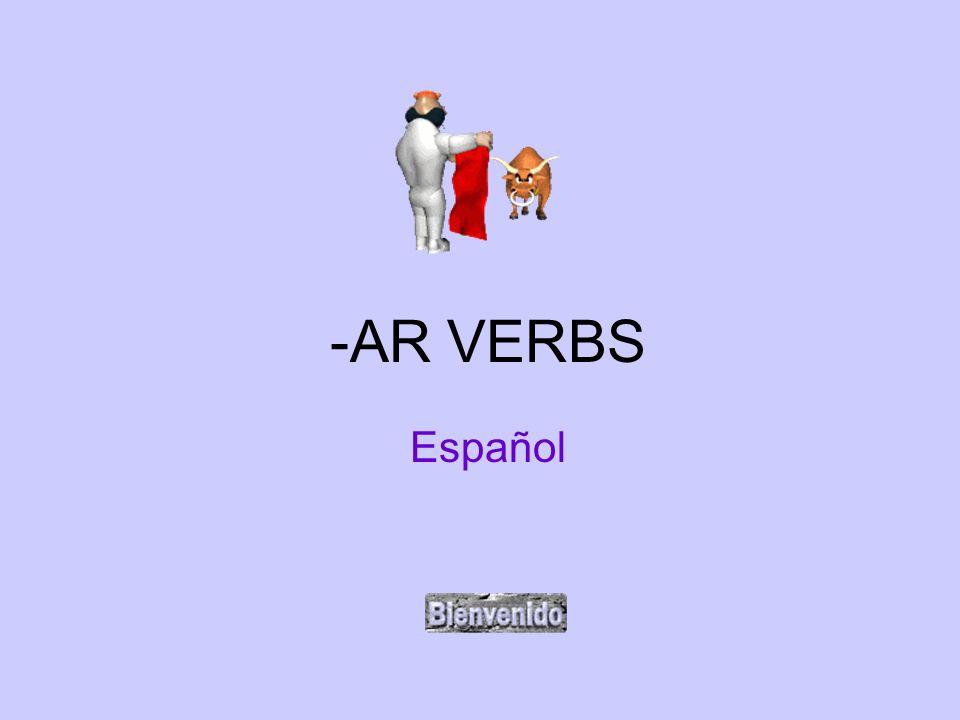 -AR VERBS Español