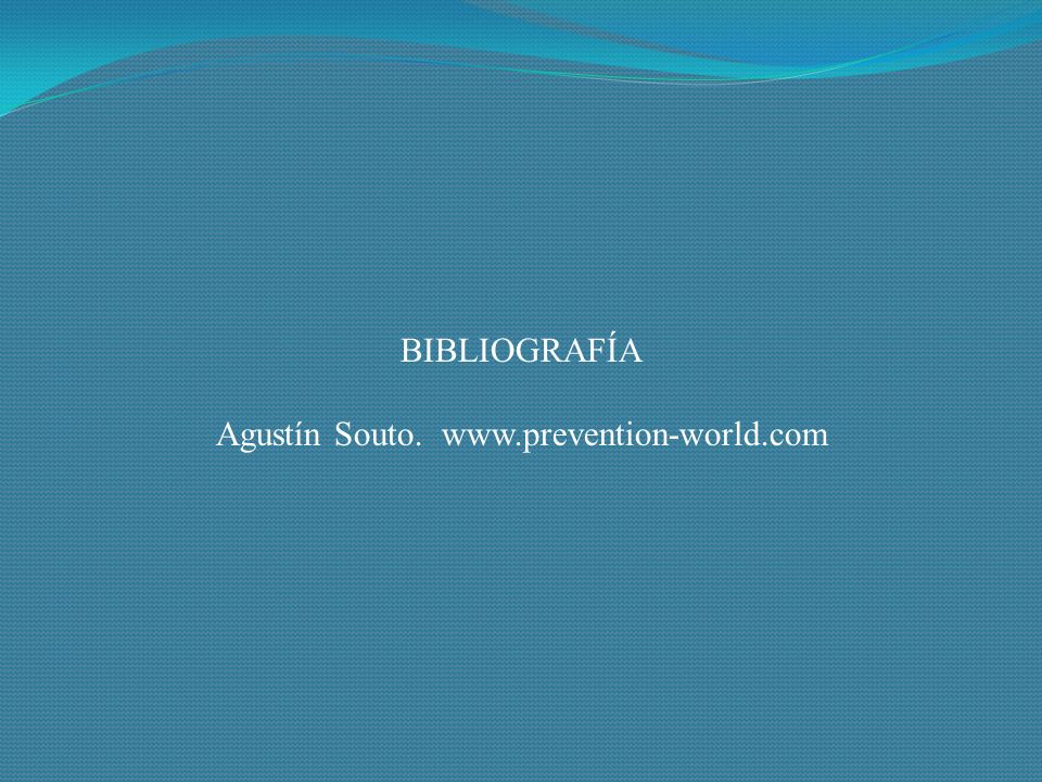 Agustín Souto. www.prevention-world.com