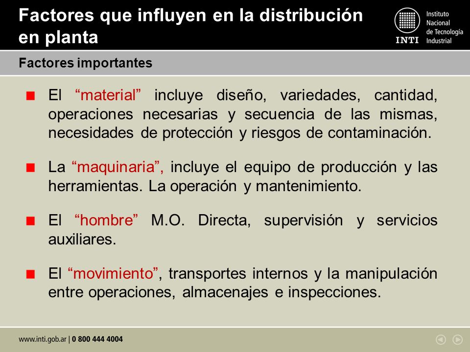 Distribuci n en planta layout ppt video online descargar for Maquinaria y utensilios para la produccion culinaria