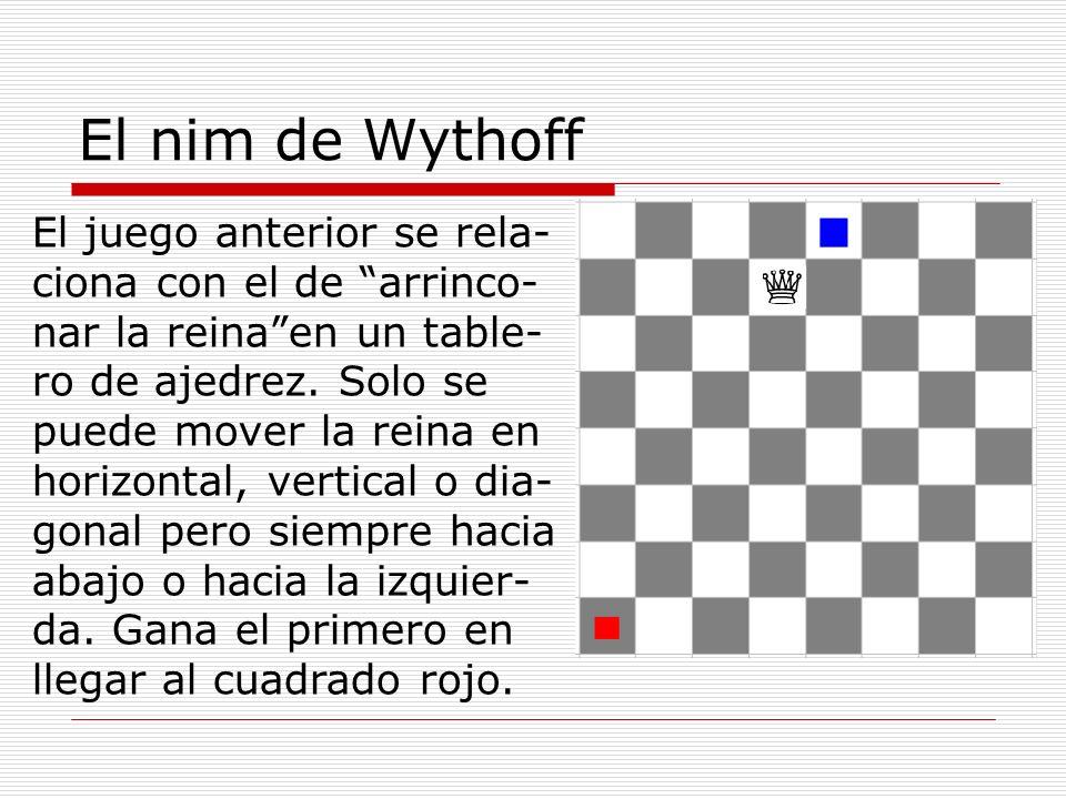 El nim de Wythoff