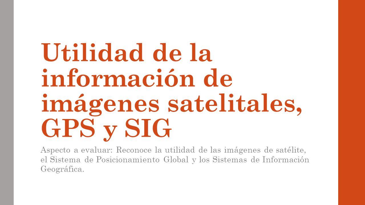 imagenes de satelite sistema de posicionamiento global y