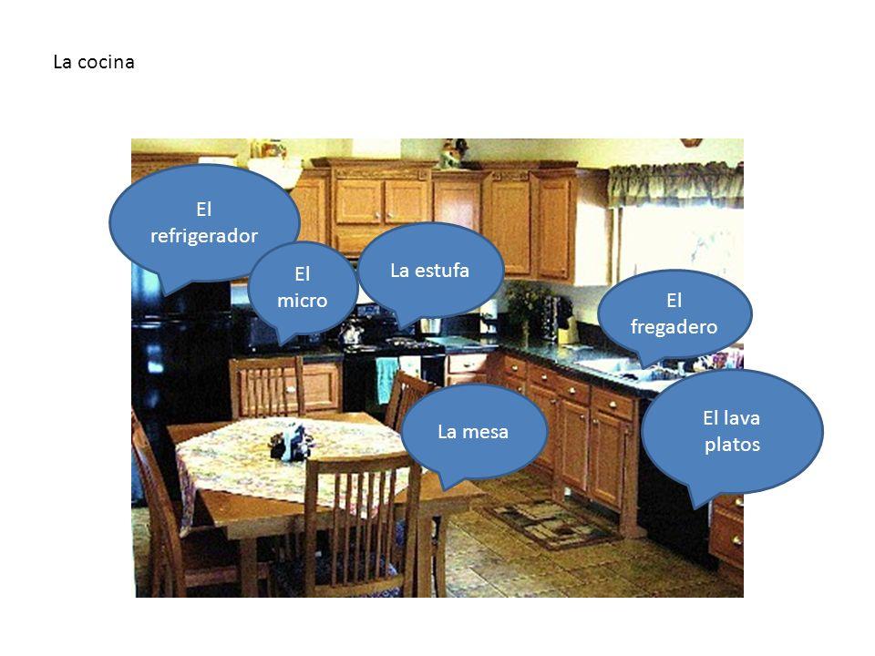 La cocina En la cocina hay…