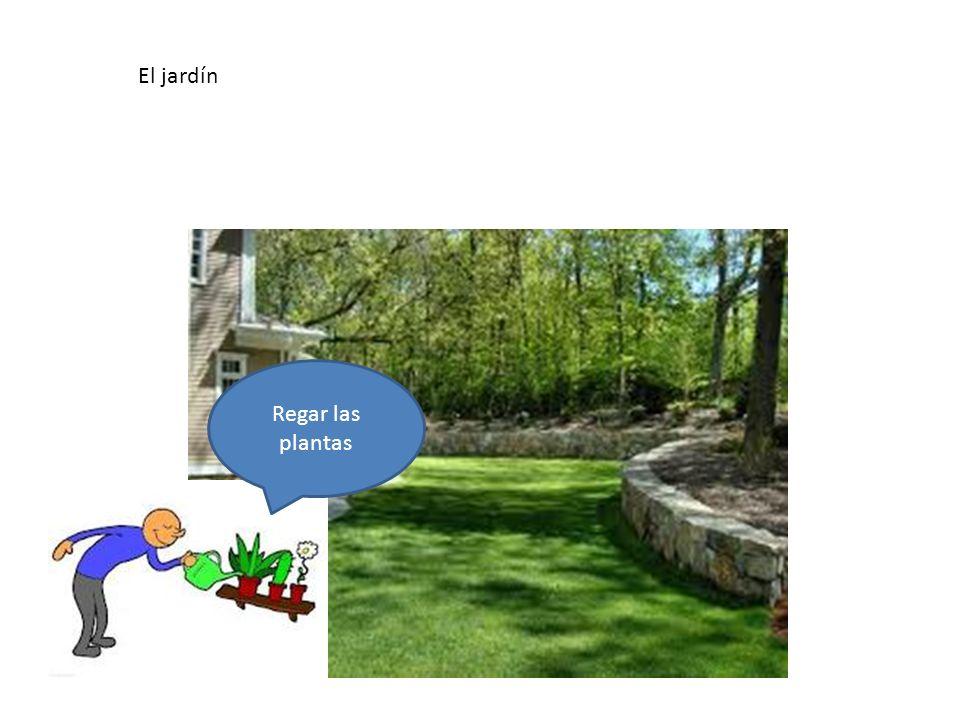 El jardín En el jardín hay…