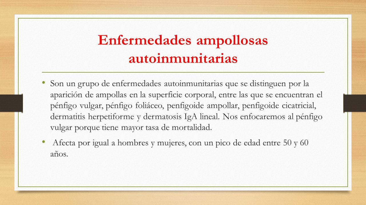 Enfermedades ampollosas autoinmunitarias