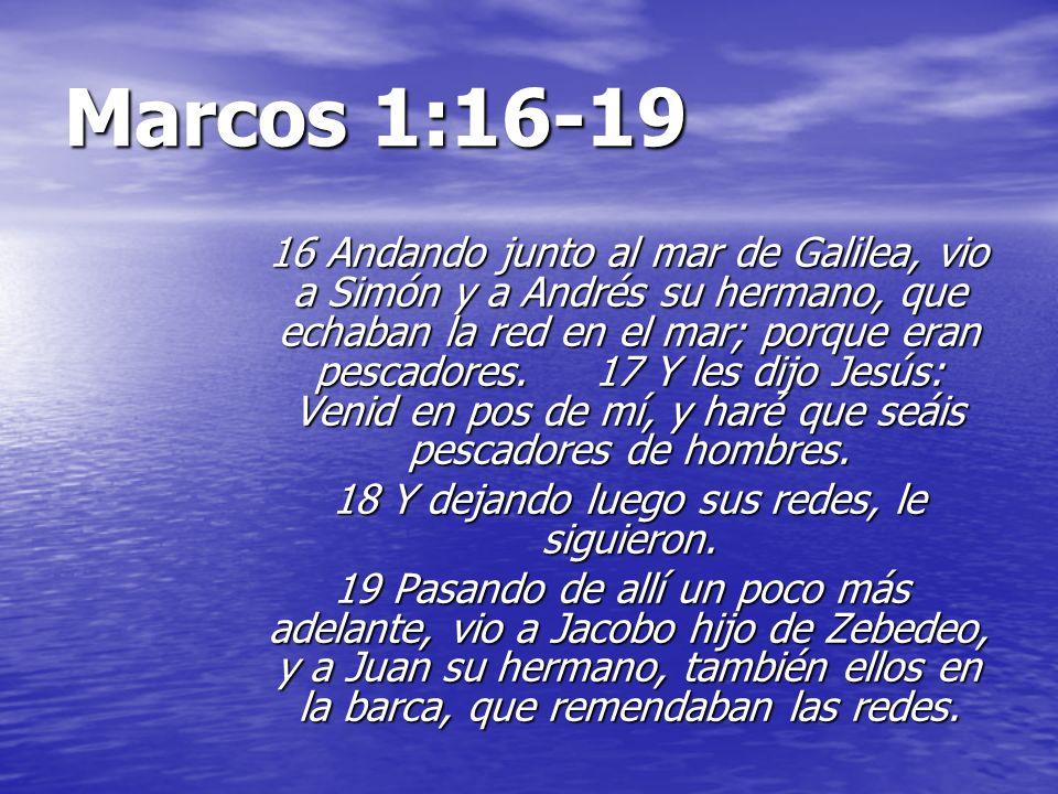 Resultado de imagen para MARCOS 1:19