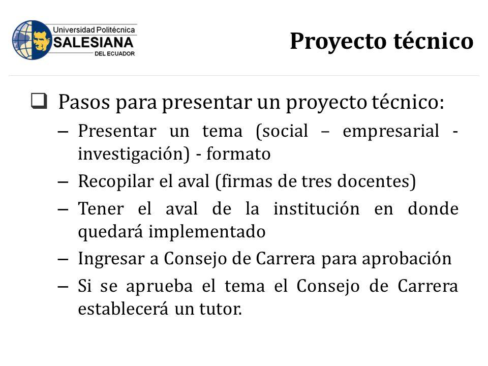 Que es un proyecto tecnico un proyecto de actividad es un for Proyecto tecnico ejemplos