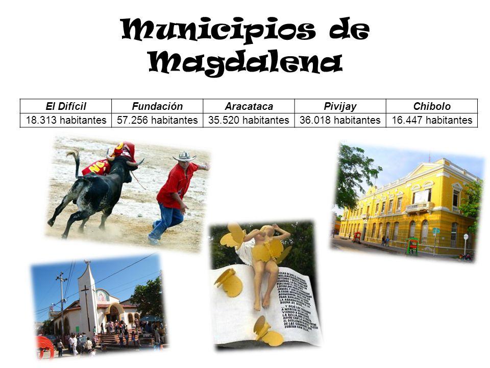 Municipios de Magdalena