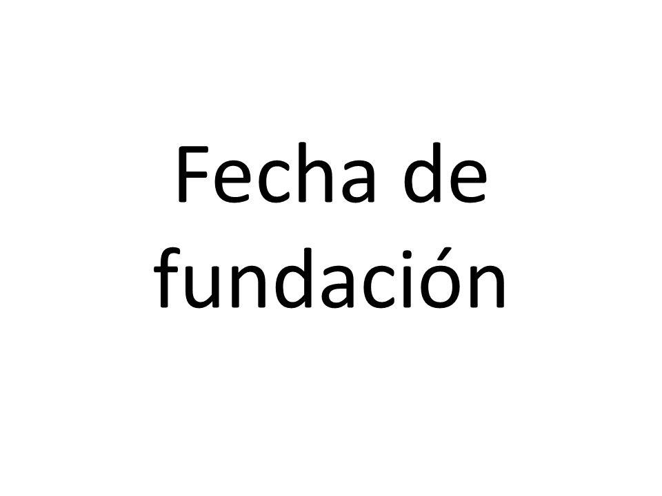 Fecha de fundación