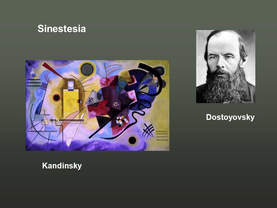Sinestesia Dostoyovsky Kandinsky