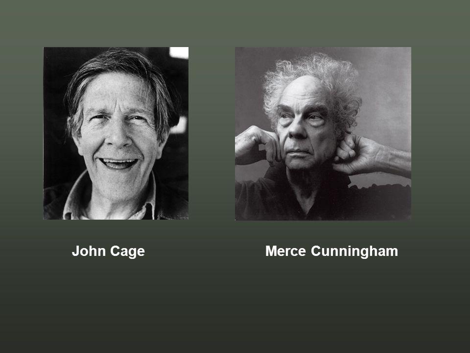 John Cage Merce Cunningham