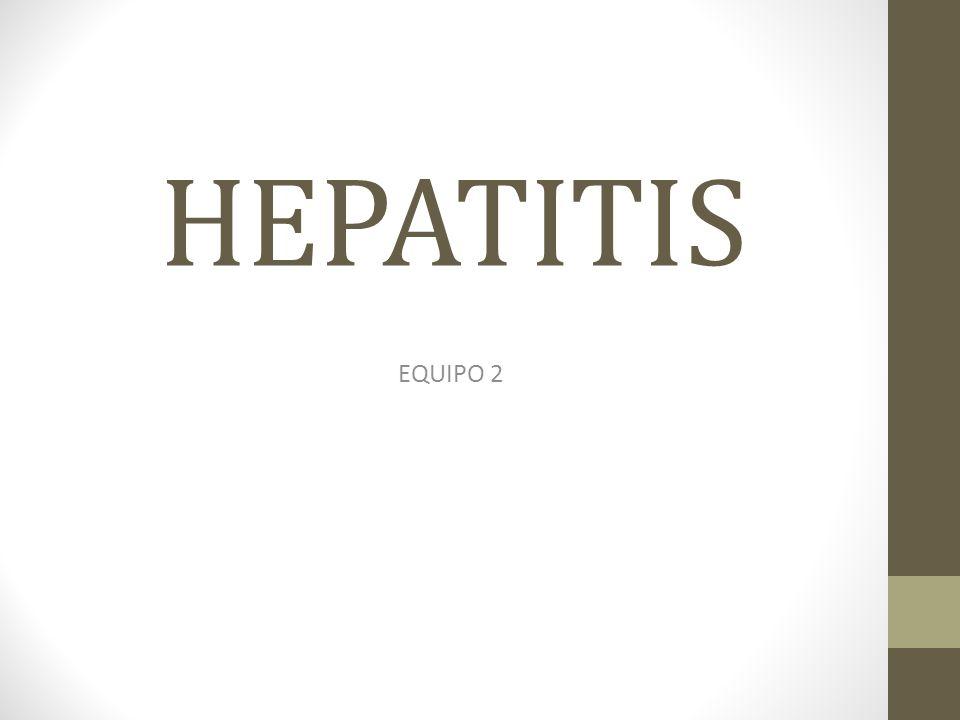 HEPATITIS EQUIPO 2