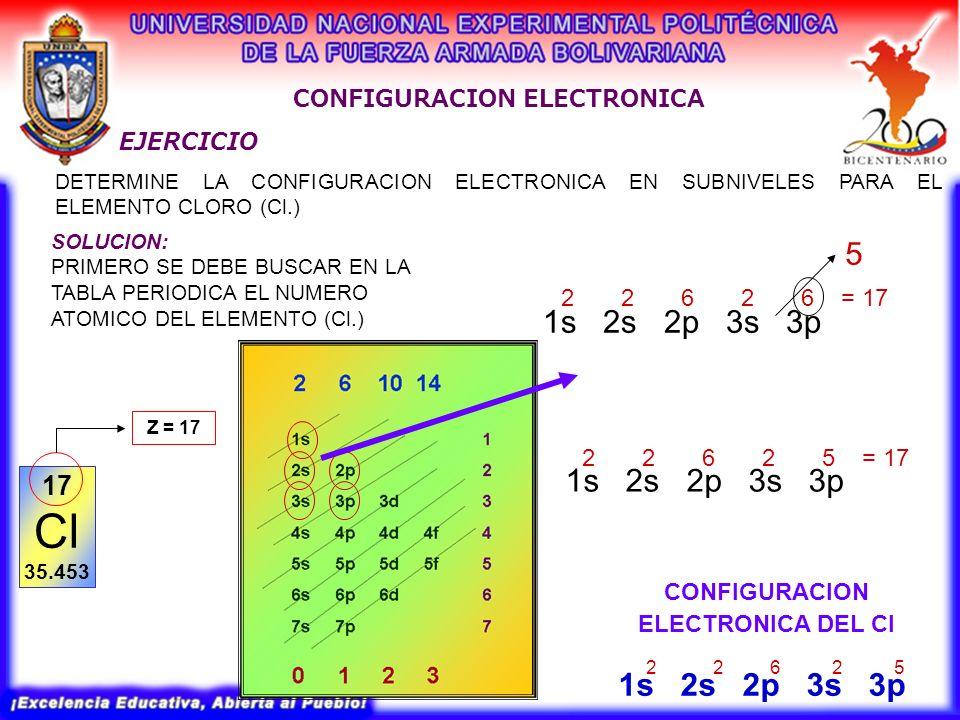 4 configuracion electronica configuracion - Tabla Periodica En Configuracion Electronica