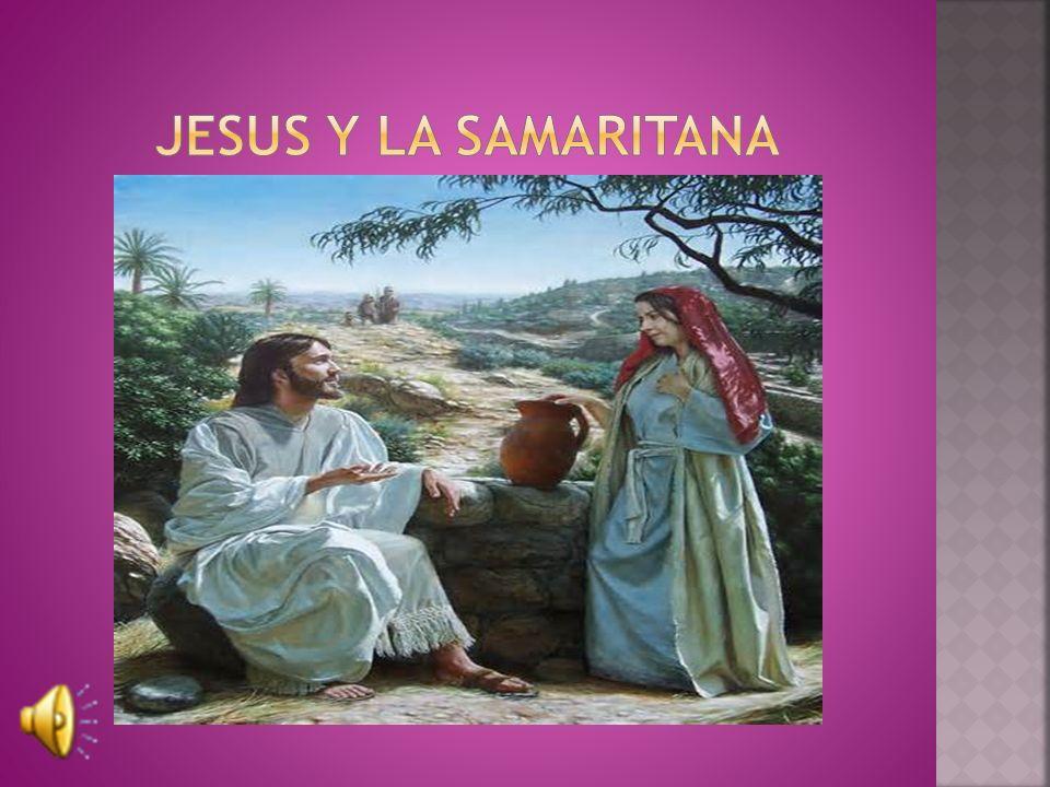 Jesus y la samaritana