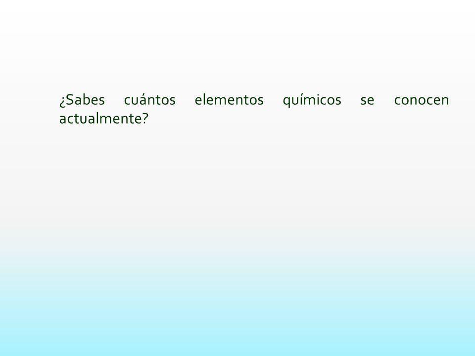 La tabla peridica ppt video online descargar la tabla peridica 2 sabes cuntos elementos urtaz Choice Image