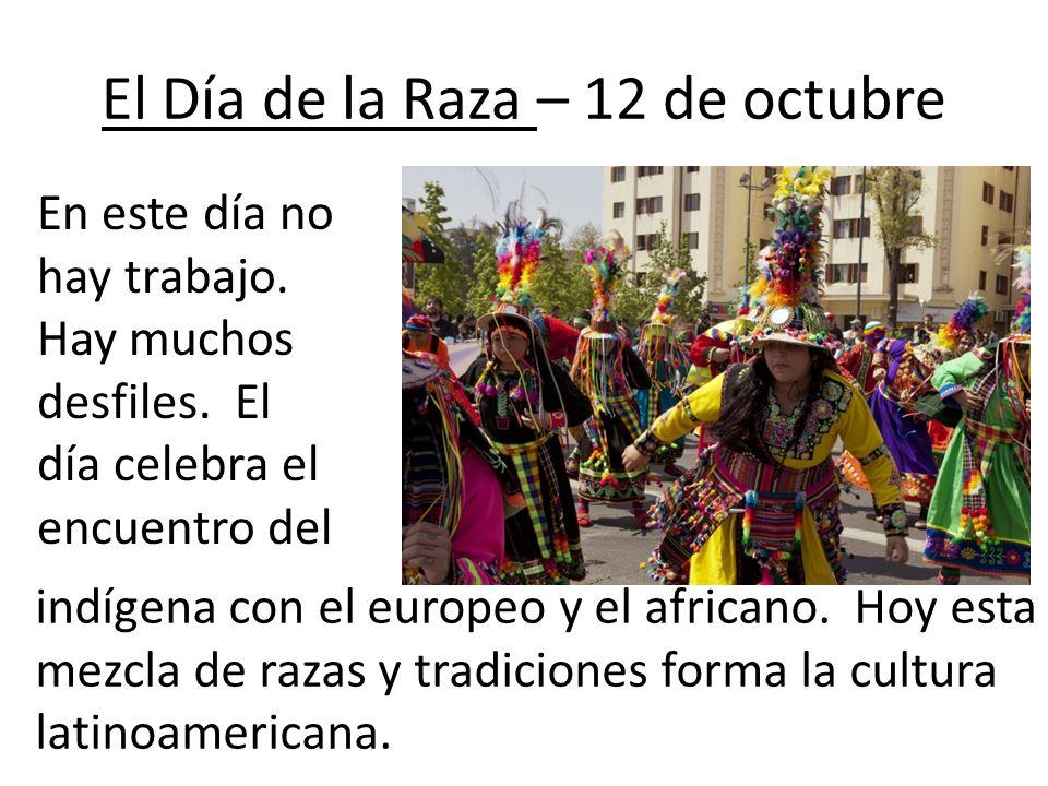 El Día de la Raza – 12 de octubre