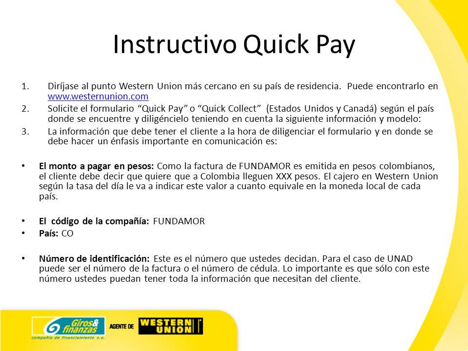 Instructivo quick pay ppt descargar for Cuanto se puede retirar de un cajero