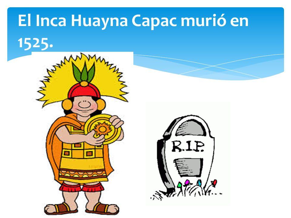 El Inca Huayna Capac Muri C B En
