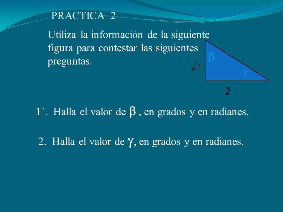 PRACTICA 2 Utiliza la información de la siguiente figura para contestar las siguientes preguntas. 2.