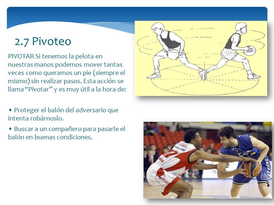 2.7 Pivoteo