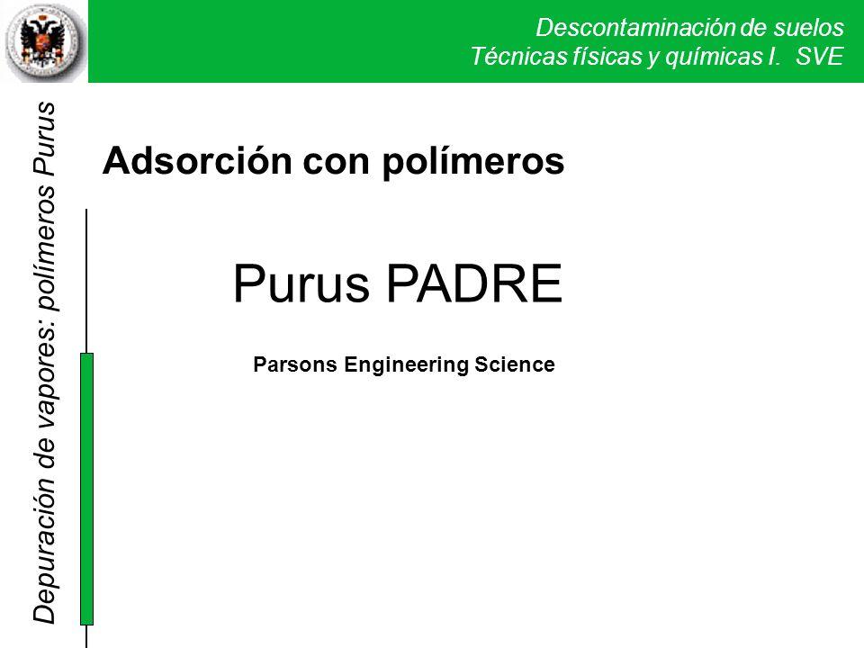 Purus PADRE Adsorción con polímeros