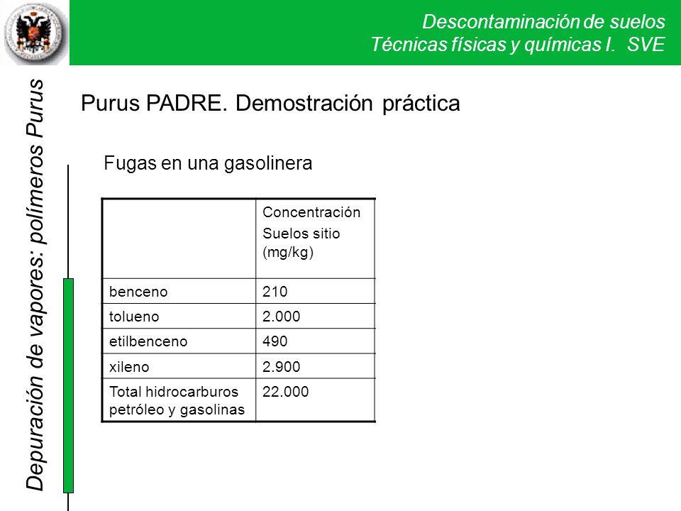 Purus PADRE. Demostración práctica