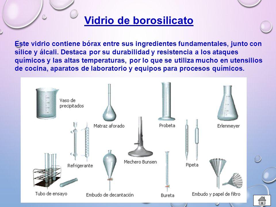 Vidrio ppt descargar for Procesos quimicos en la cocina