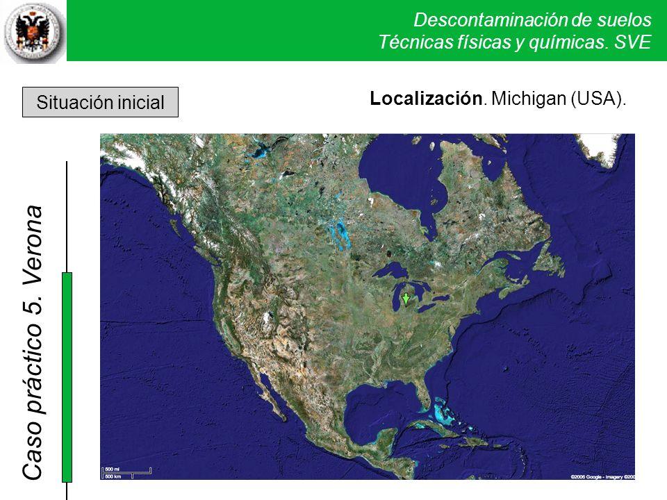 Localización. Michigan (USA). Situación inicial