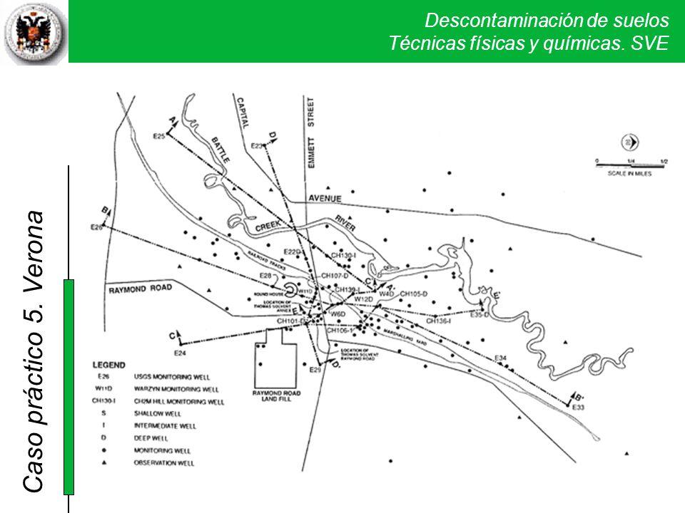 Se hizo un muestreo sistemático para determinar el origen de la contaminación