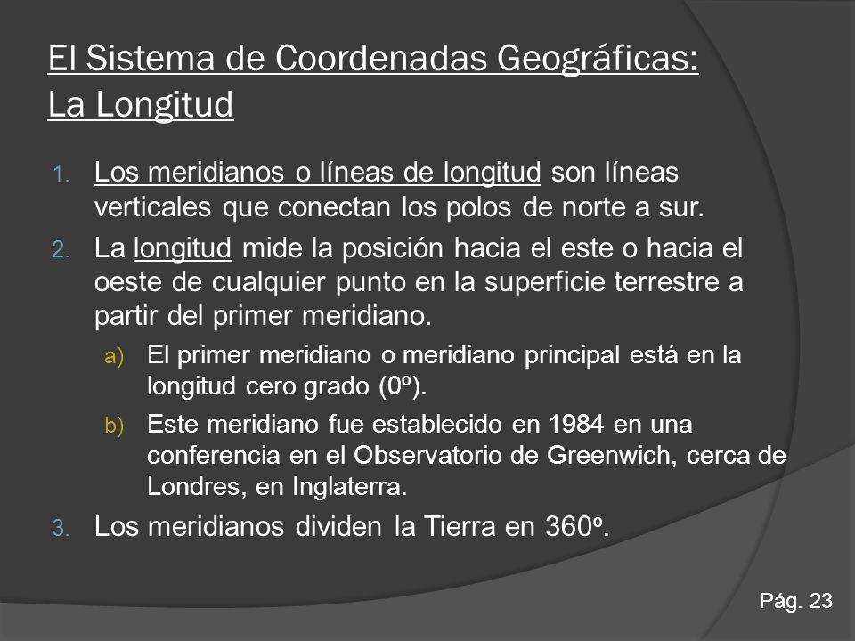 El Sistema de Coordenadas Geográficas: La Longitud