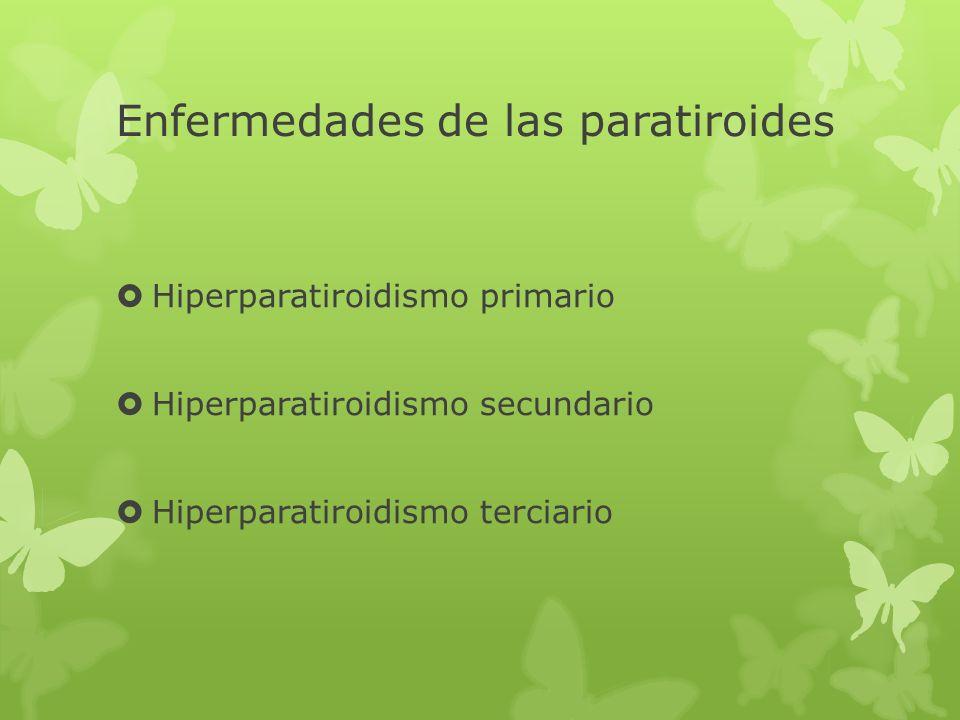 Enfermedades de las paratiroides