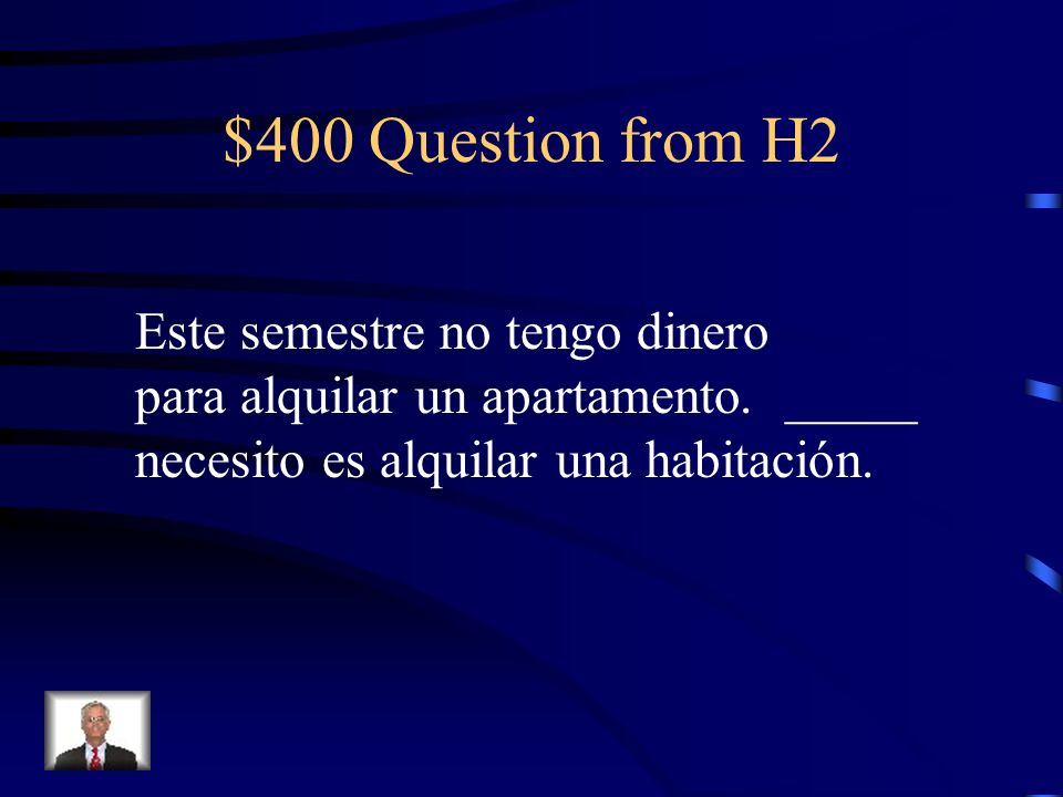 Jeopardy Commands (+) Commands (-) More Vocab 12 Relative