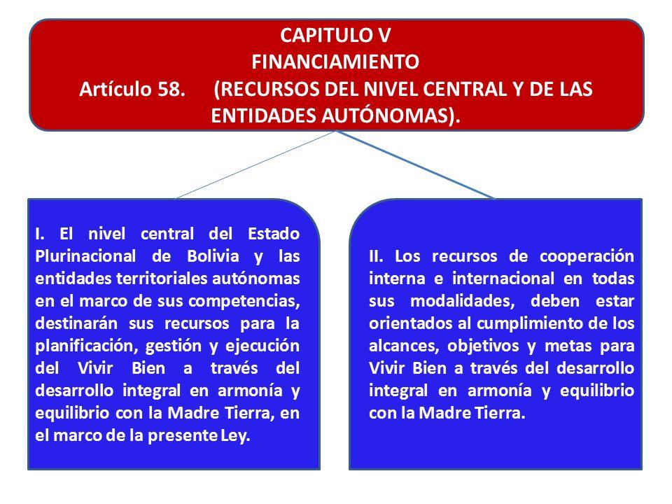 LEY MARCO DE LA MADRE TIERRA Y DESARROLLO INTEGRAL PARA VIVIR BIEN ...