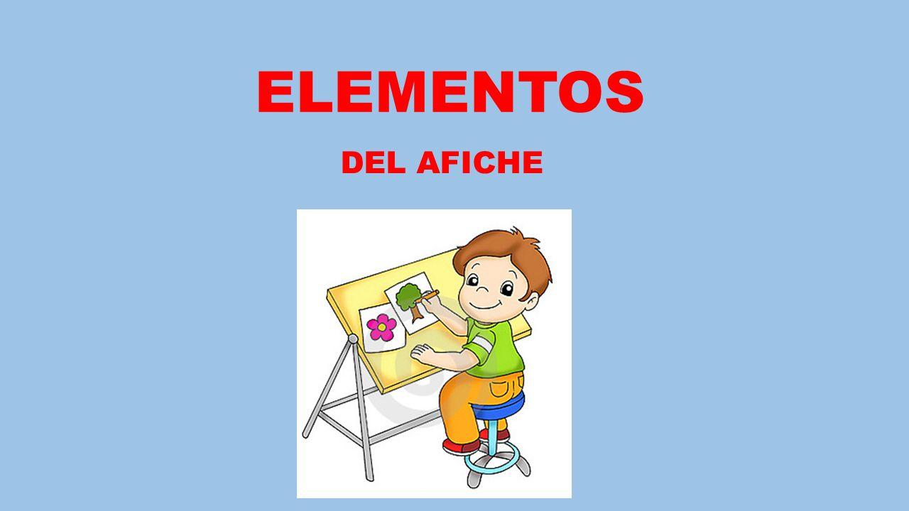 ELEMENTOS DEL AFICHE