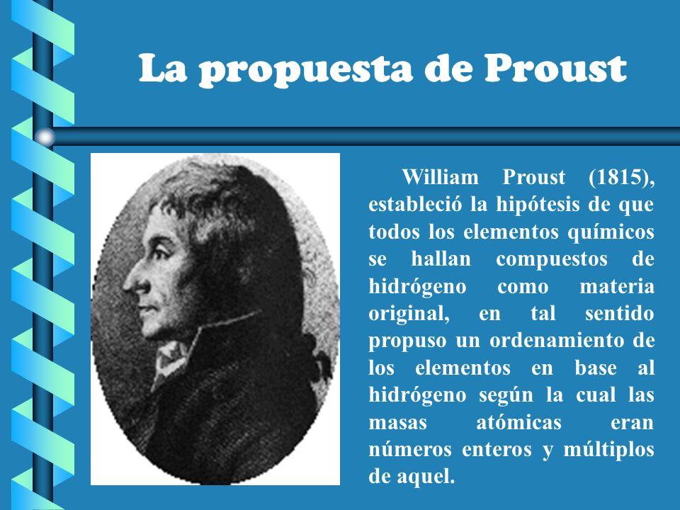 Tabla peridica ppt video online descargar la propuesta de proust urtaz Image collections