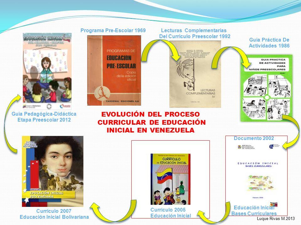 Propuesta de planificaci n y evaluaci n delnivel educaci n for Programa curricular de educacion inicial