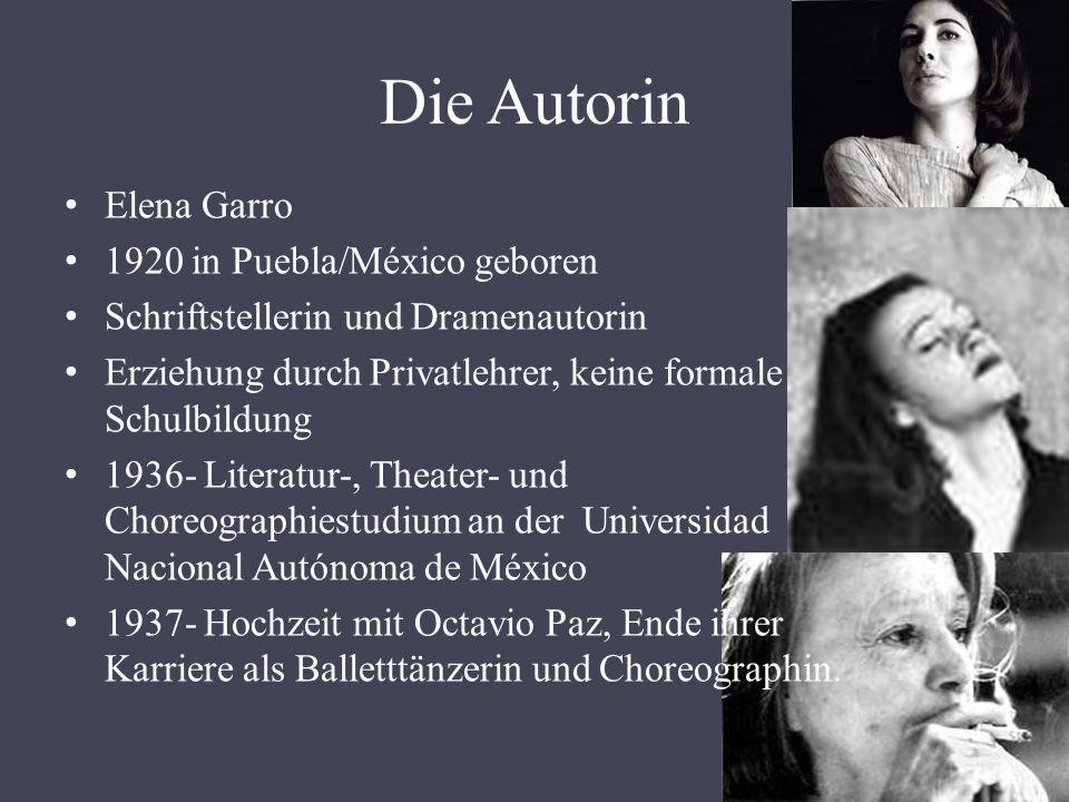 Die Autorin Elena Garro 1920 in Puebla/México geboren
