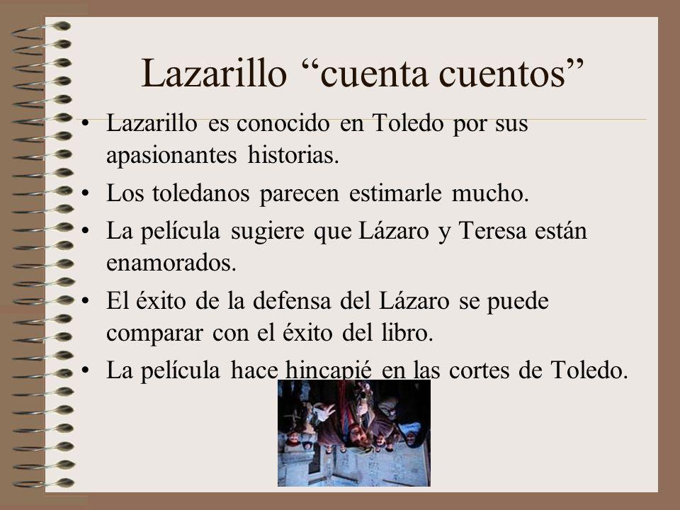 Lazarillo cuenta cuentos