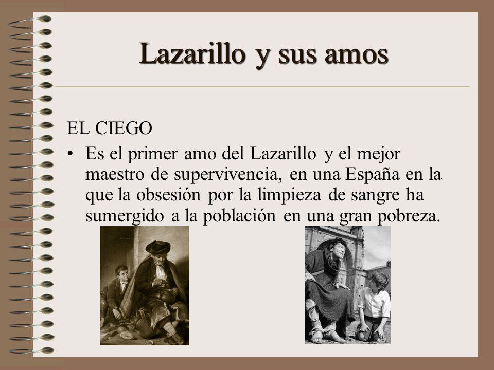 Lazarillo y sus amos EL CIEGO