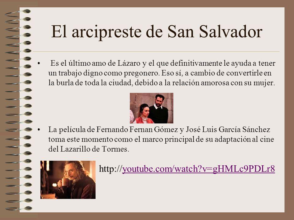 El arcipreste de San Salvador