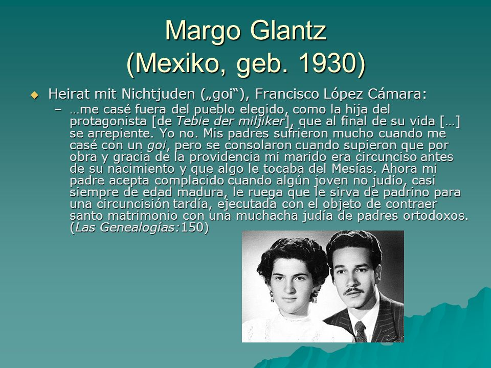 Margo Glantz (Mexiko, geb. 1930)