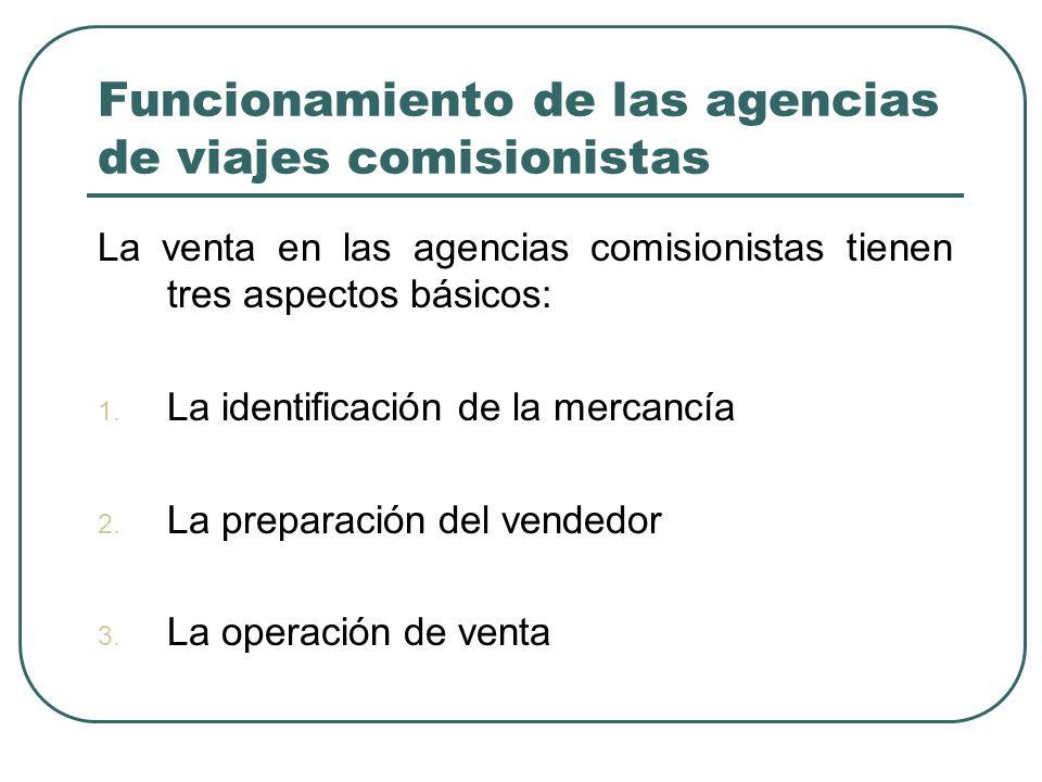 Funcionamiento de las agencias de viajes comisionistas