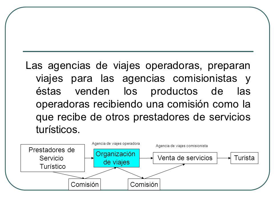 Agencia de viajes comisionista